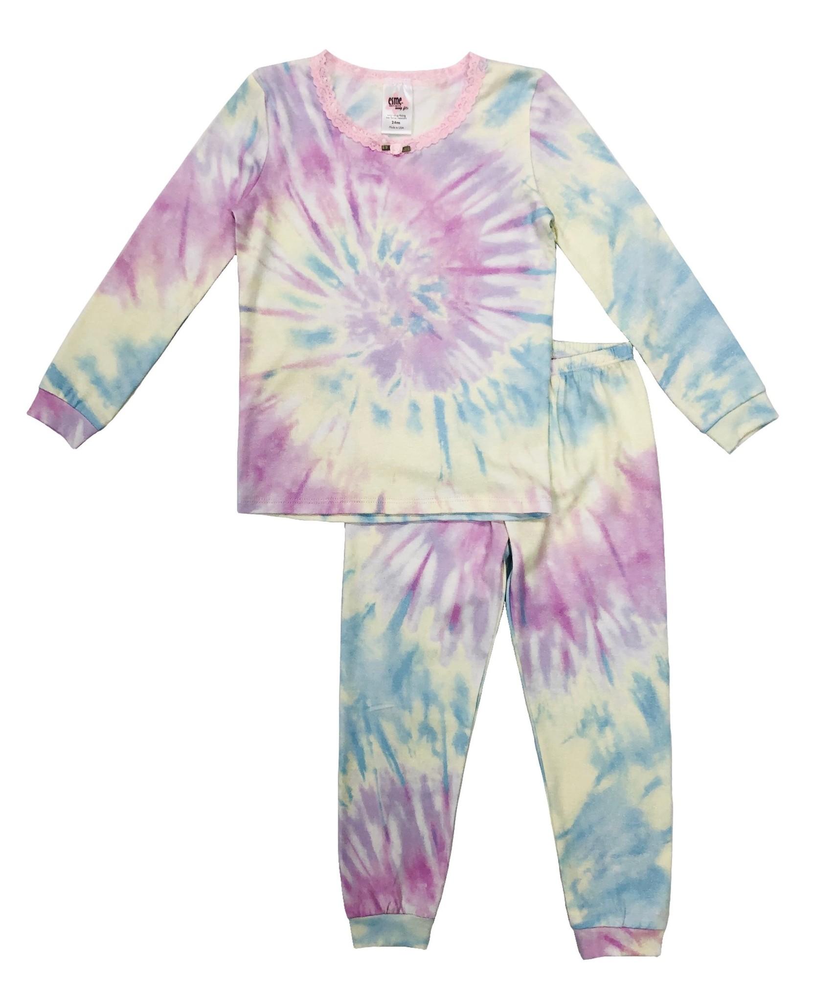 Esme Shimmer Tie Dye  L/S Set - Infant