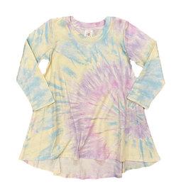 Esme Shimmer Tie Dye Dress