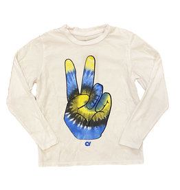 Californian Vintage White TD Peace Hand Top