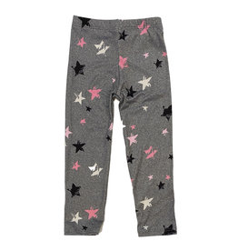Social Butterfly Grey Stars Soft Infant Legging