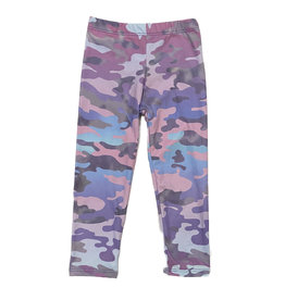 Social Butterfly Violet/Gray Soft Infant Legging
