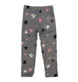 Social Butterfly Grey Stars Soft  Legging