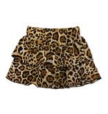 Katie J NYC  Leopard Ruffled Skirt