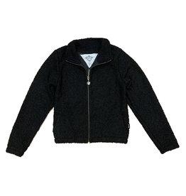 T2Love Black Sherpa Zip Jacket