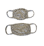 Sofi Soft Mini Leopard Mask-Toddler/Kid/Adult