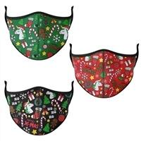 Christmas Mask - Adjustable for Kids 3-7
