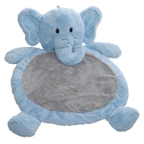 Bestever Elephant Playmat - Blue/Gray