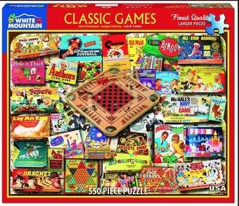 Classic Games Puzzle 550 Piece Puzzle
