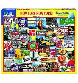 New York New York 1000 Piece Puzzle
