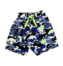 Mish Boys Blue Camo Stars Swimsuit