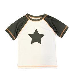 Mish Boys Olive/White Star Rashguard