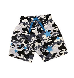 Mish Black Camo Stars Infant Swimsuit