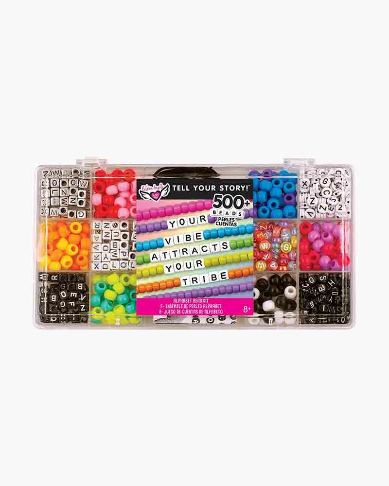 Alphabet Bead Kit 500 Pieces