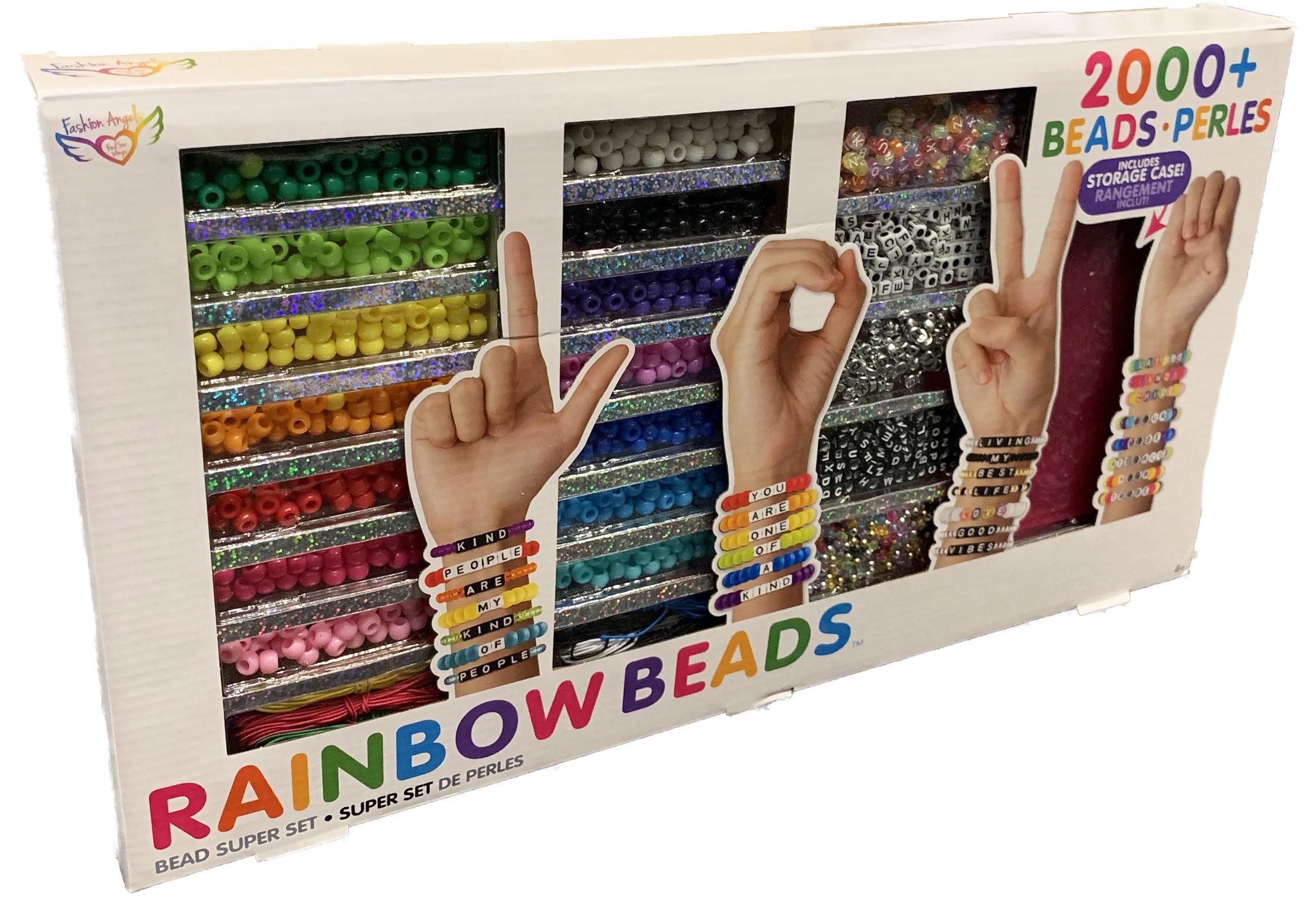 Rainbow Bead Super Set 2000 Pieces