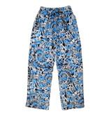 IScream Blue Tie Dye Plush Lounge Pants