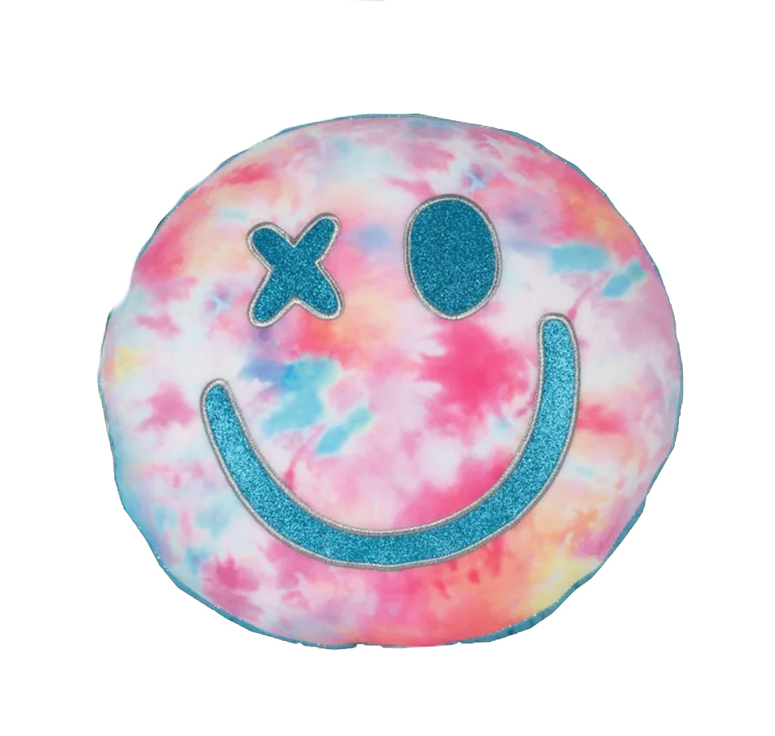 Cotton Candy Scented Smiley Pillow