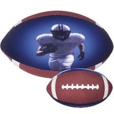 Football Large Microbead Pillow