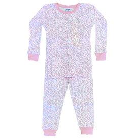 Baby Steps Pink Cheetah PJ Set