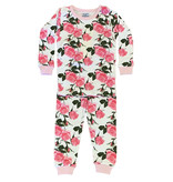 Baby Steps Roses Infant PJ Set