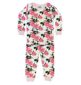 Baby Steps Roses Infant PJ Set