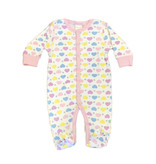 Baby Steps Hearts & Stars Footie