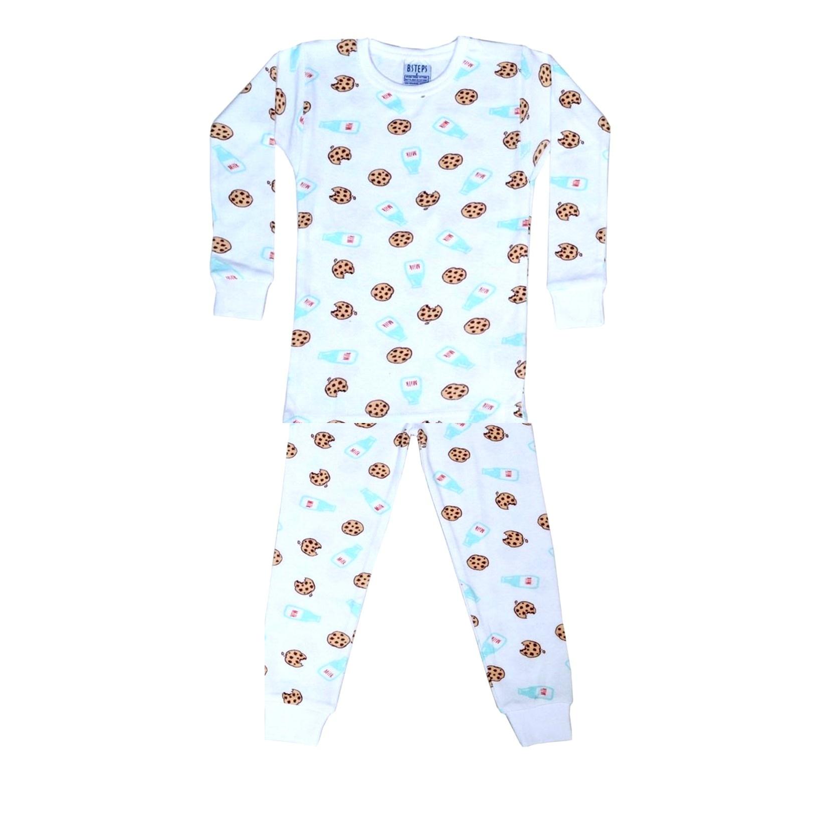 Baby Steps Milk & Cookies PJ Set