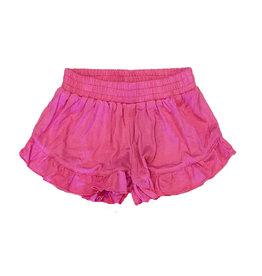 Flowers by Zoe Pink Ruffle Shorts