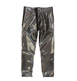 Dori Charcoal Lame Leggings