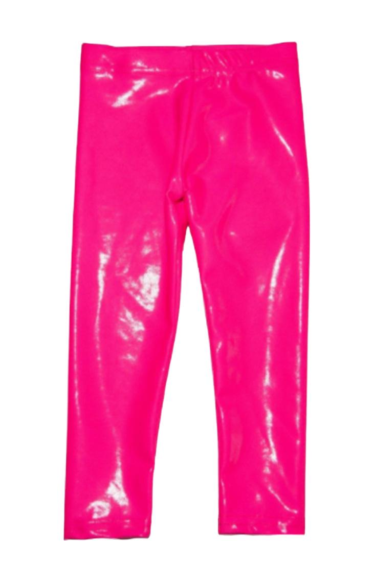 Dori Neon Pink Lame Legging