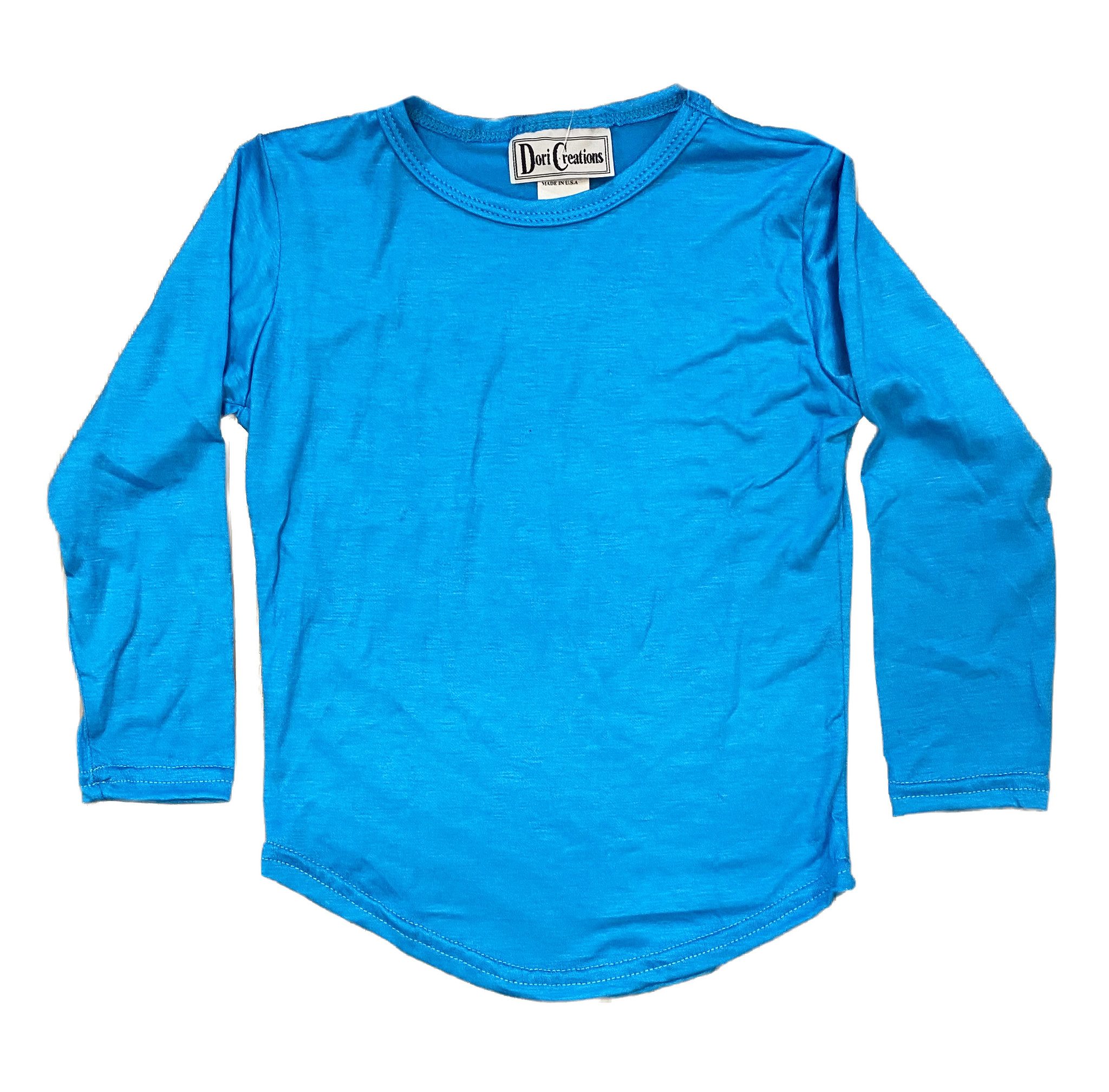 Dori Turquoise Long Sleeve Tee