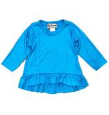 Dori Creations Turquoise LS Ruffle Infant Top
