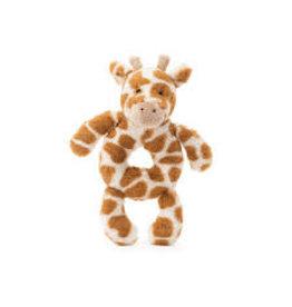 Jellycat Giraffe Plush Ring Rattle