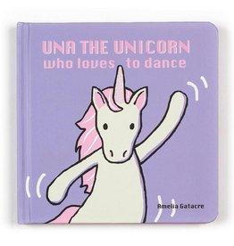 Jellycat Una the Unicorn Book
