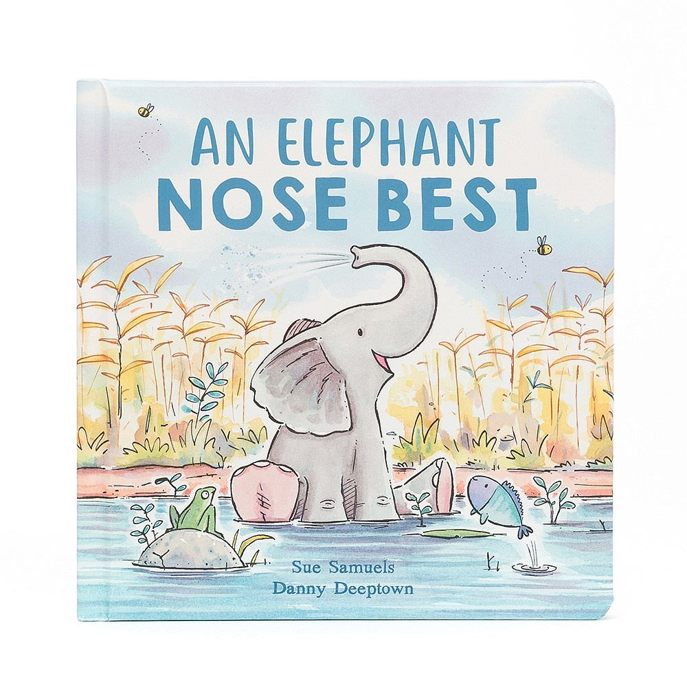 Jellycat An Elephant Nose Best Story Book