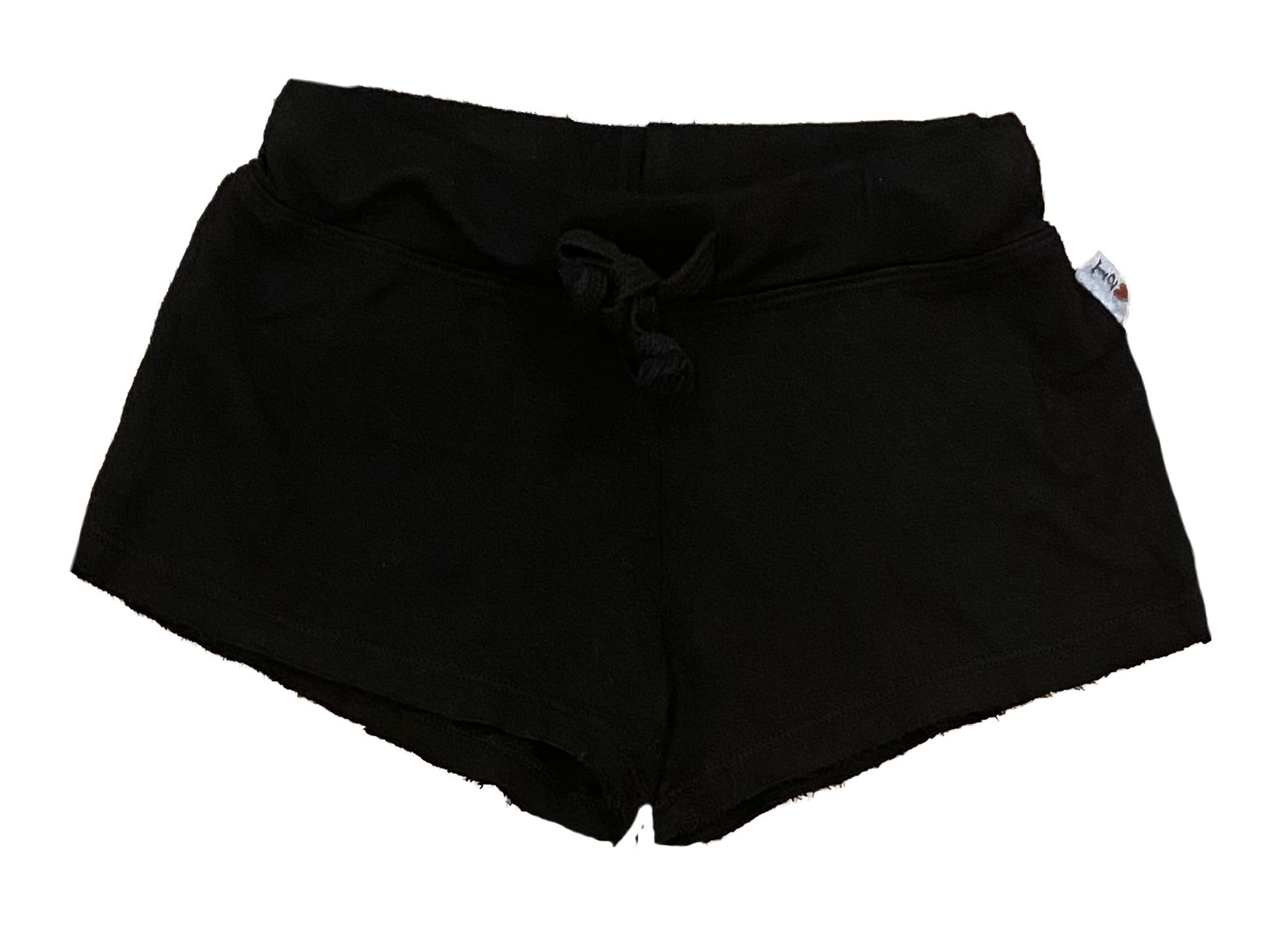 T2Love Black Raw Shorts