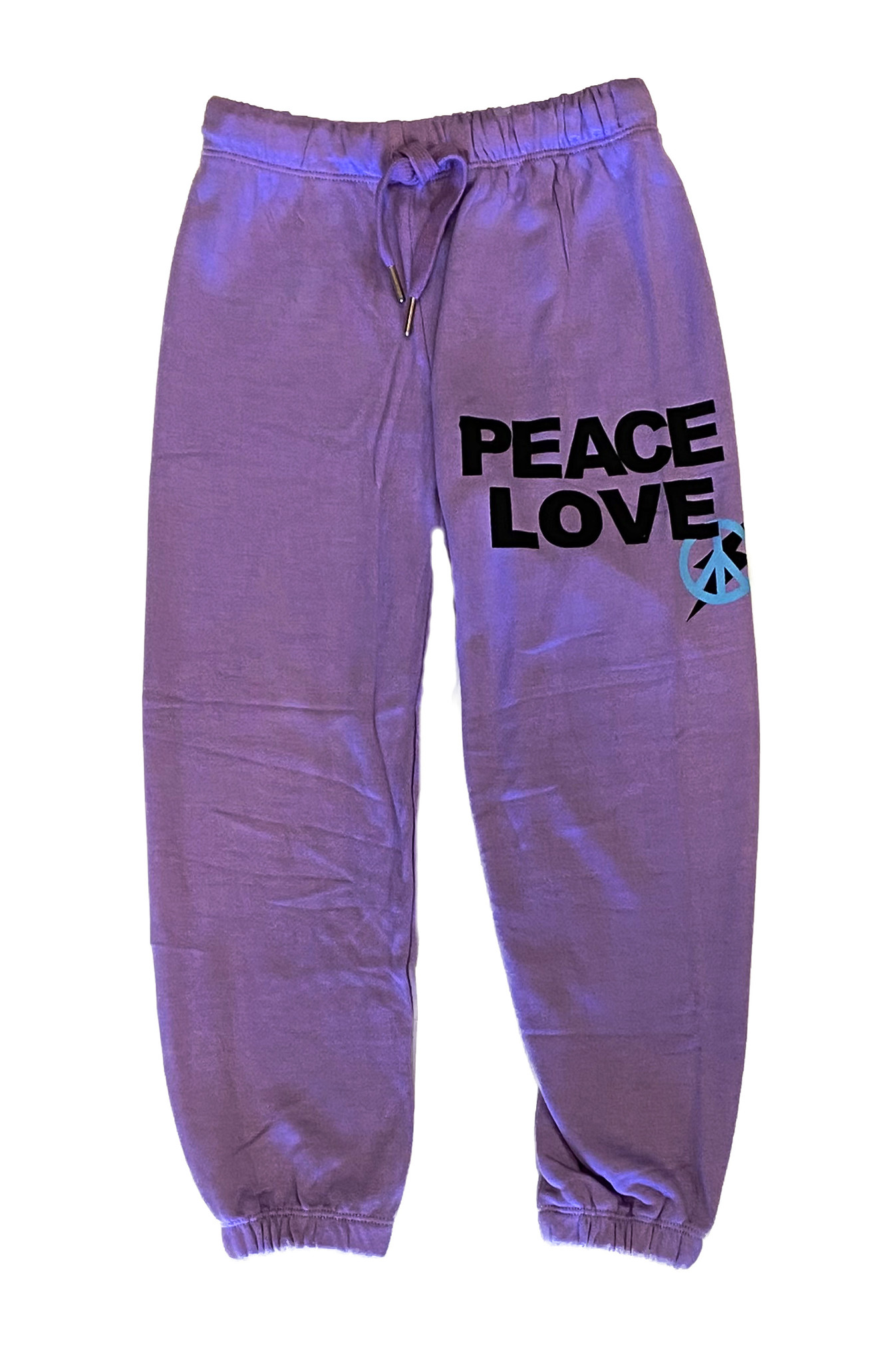 Flowers by Zoe Lavender Peace Love Sweatpant
