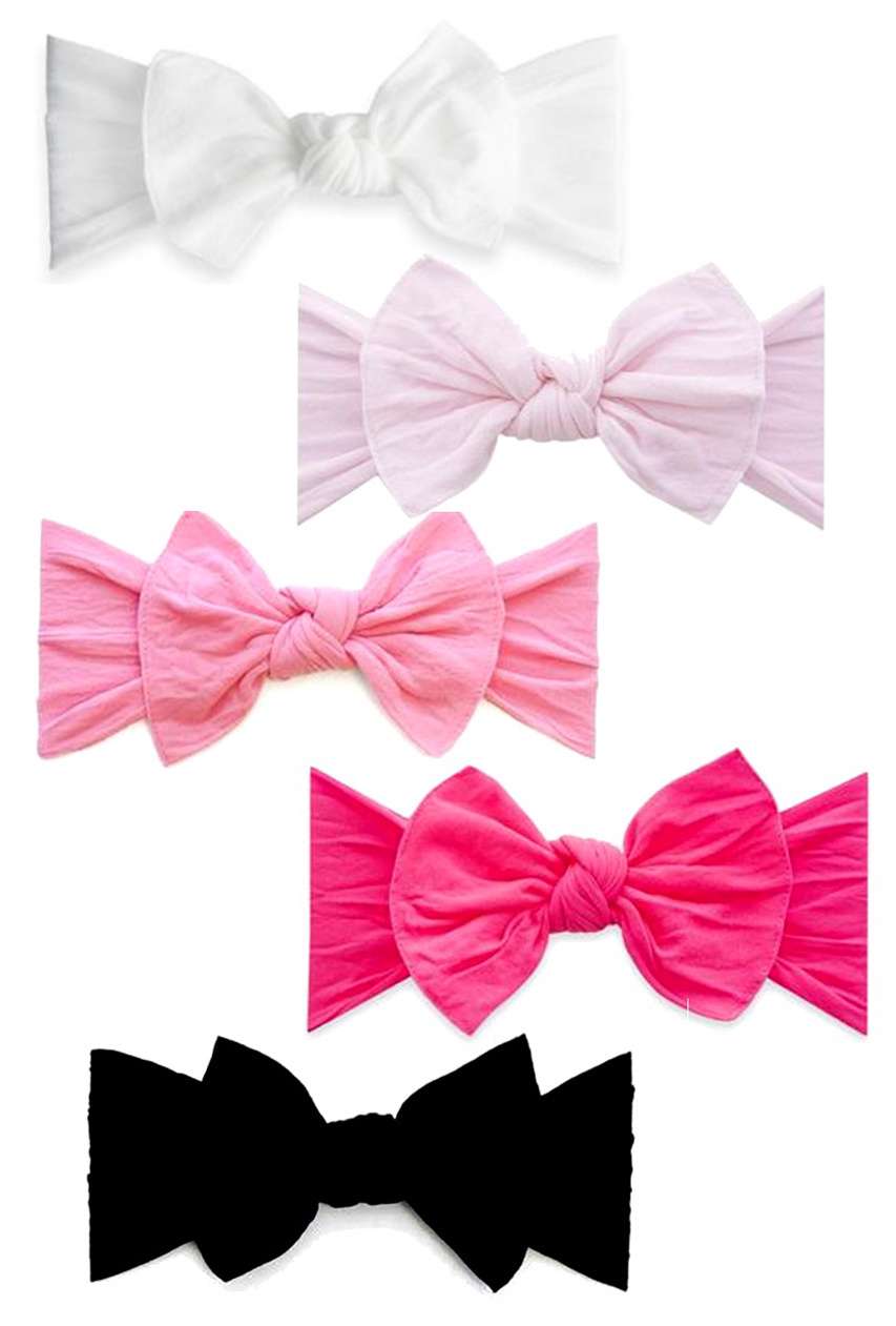 Baby Bling Solid Knot Headband  5 colors