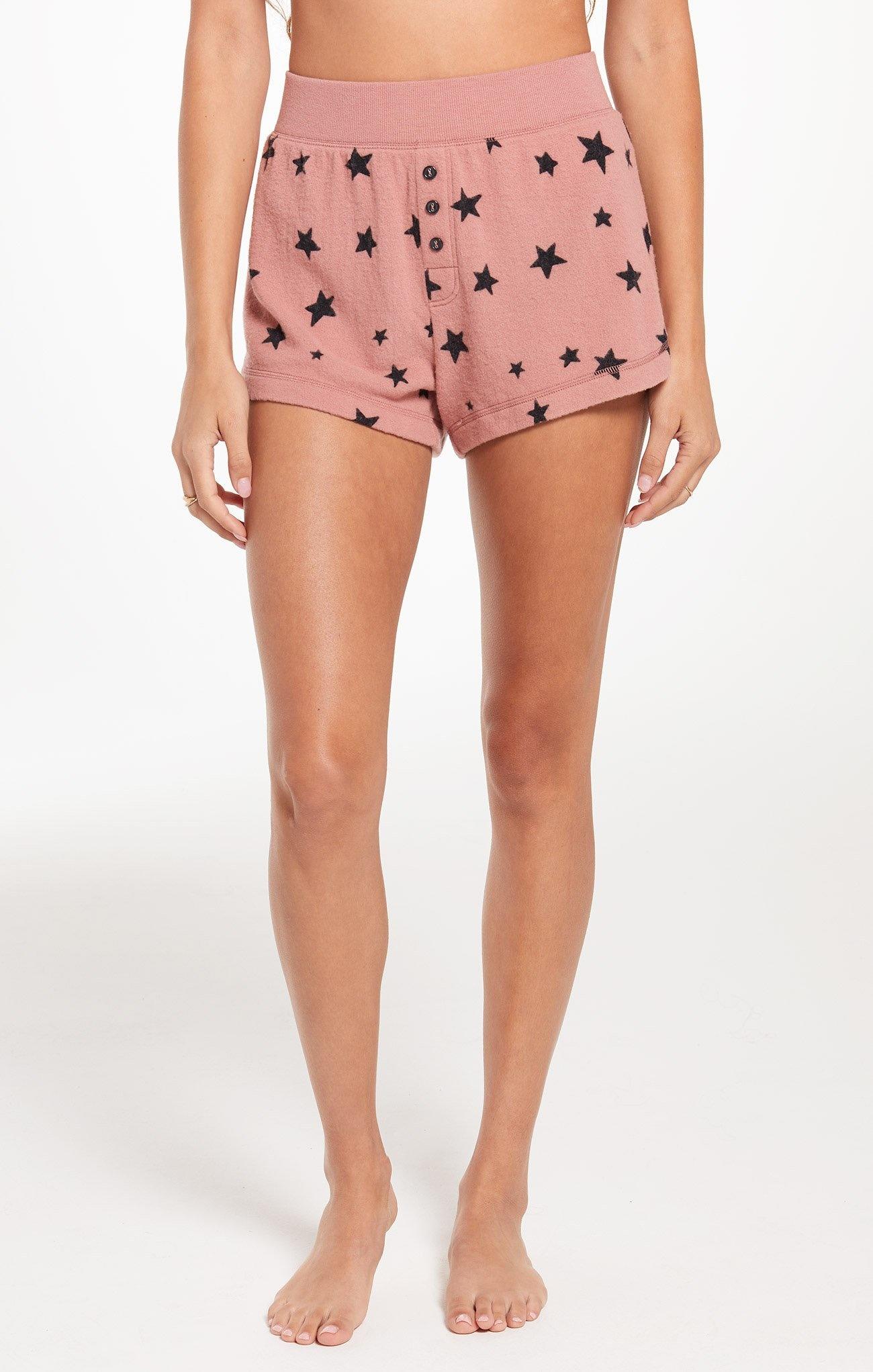 Z Supply Rose Star Shorts