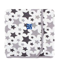 Kickee Pants Grey Star Blanket