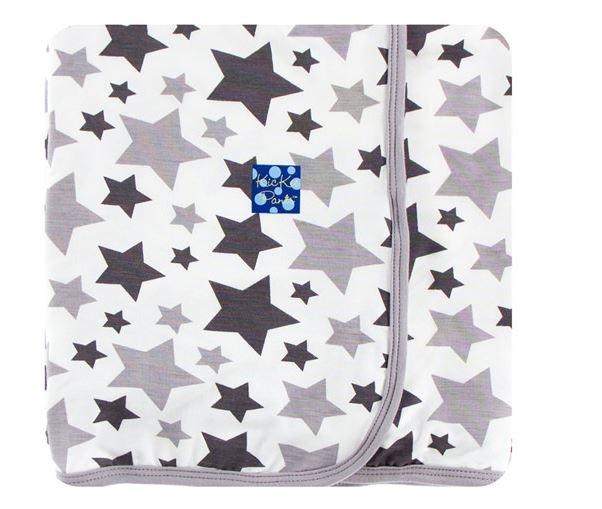 Kickee Pants Grey Star Blanket