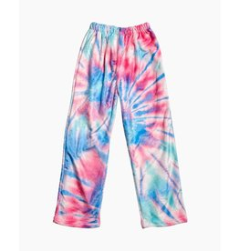 Top Trenz Cotton Candy Tie Dye Plush Lounge Pants