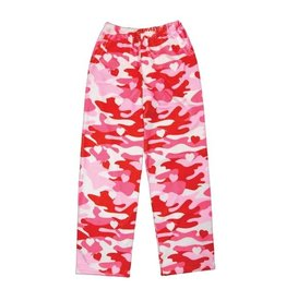 IScream Camo Heart Plush Pants