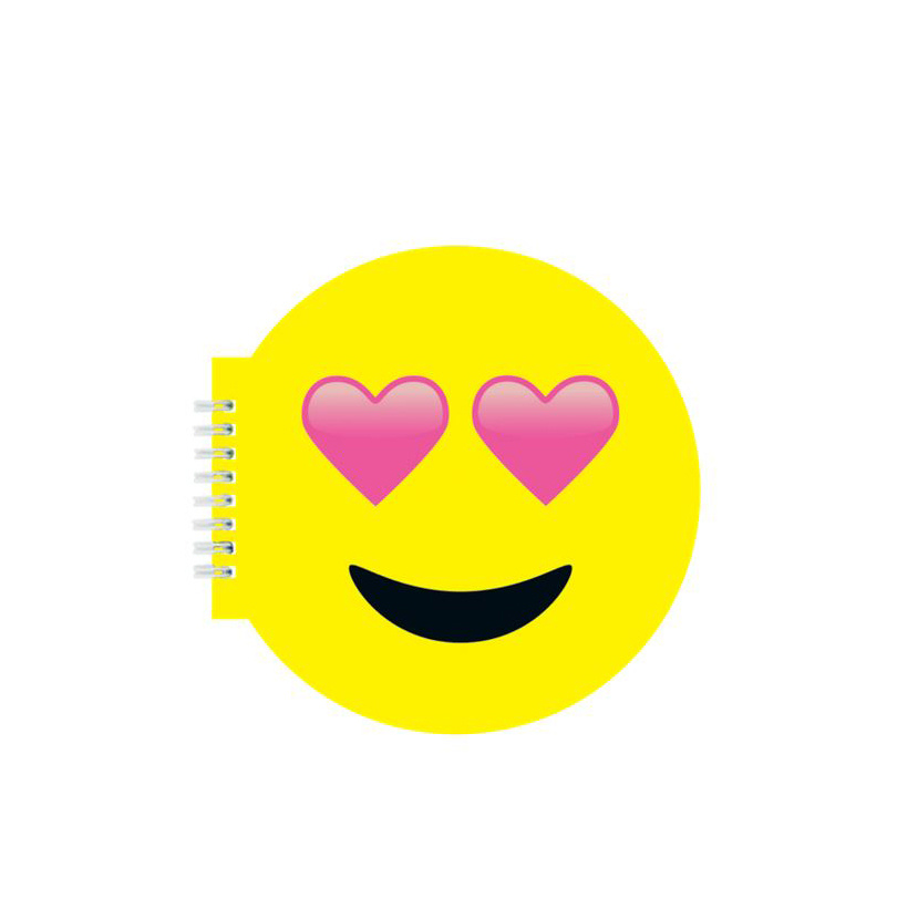 IScream Heart Eyes Scented Notebook