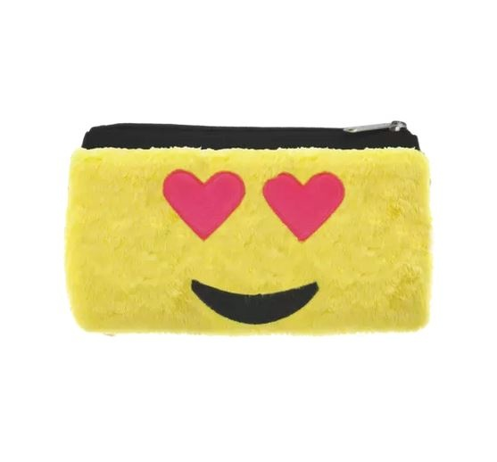 IScream Heart Eyes Furry Zip Case