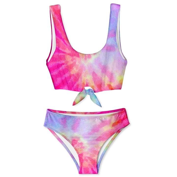 Stella Cove Pink TD Tie Bikini