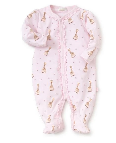 Kissy Kissy Sophie La Girafe Pink Footie