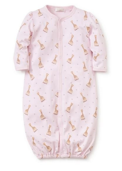 Kissy Kissy Sophie La Girafe Pink Conv Gown