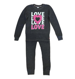 Love Love Charcoal Thermal PJ Set