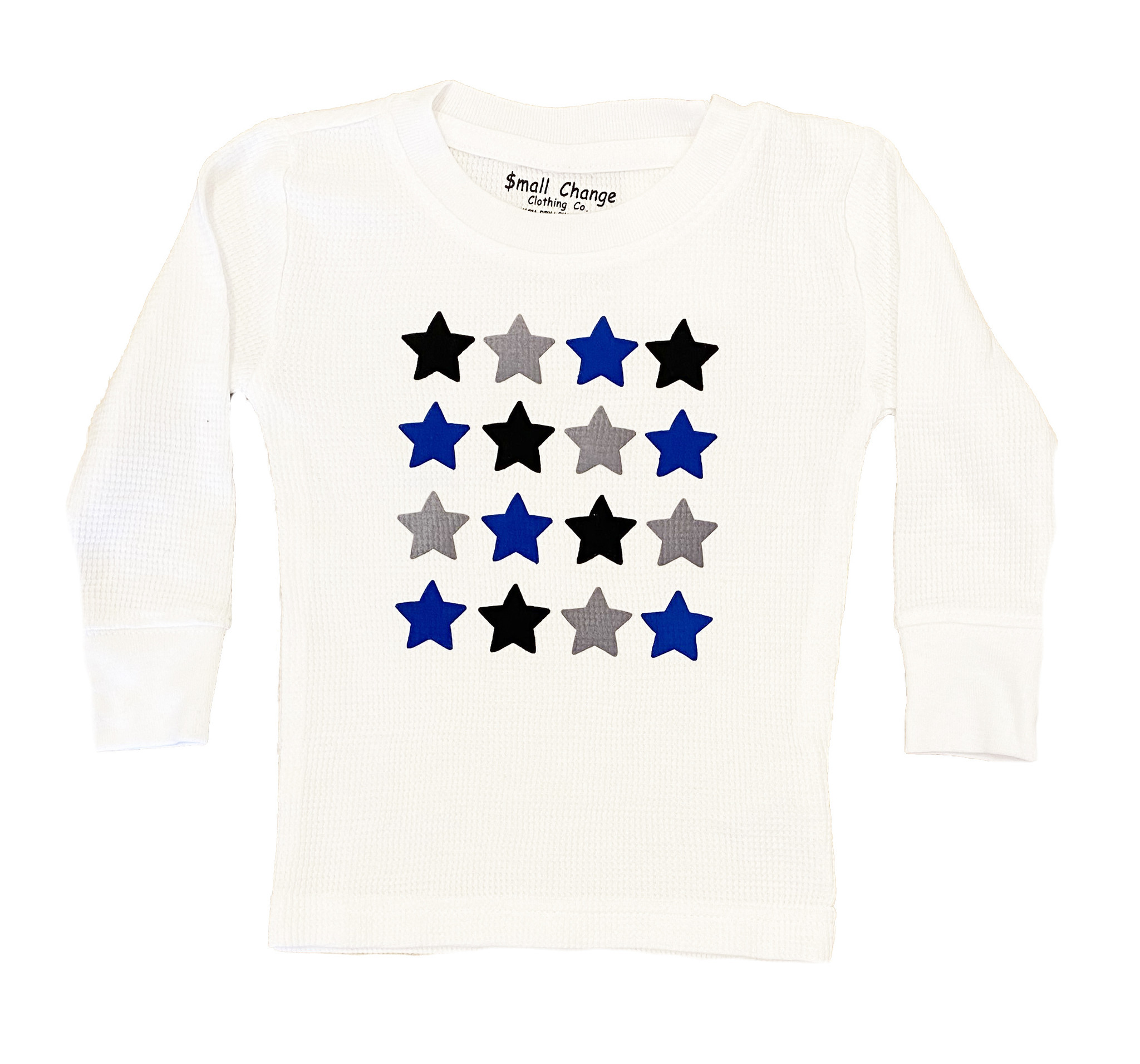 Small Change Boy Stars Thermal  Top