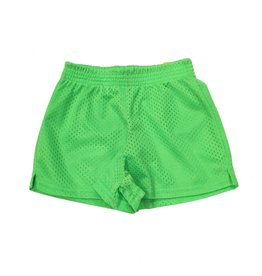 Dori Creations Lime Green Mesh Shorts